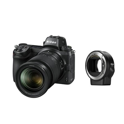 Nikon Z6 Kit mit 24-70mm 4.0 + FZT Adapter