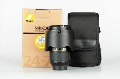 Occ. Nikon AF-S 24-70mm 2.8 G ED N