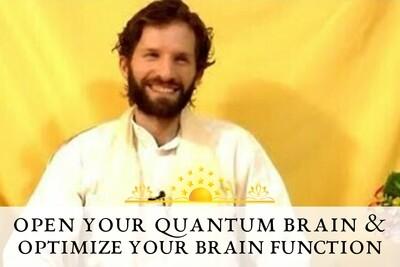 Open Your Quantum Brain & Optimize Your Brain Function Meditation