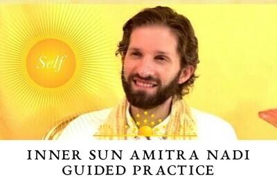 Inner Sun Amrita Nadi Heart on the Right Guided Practice