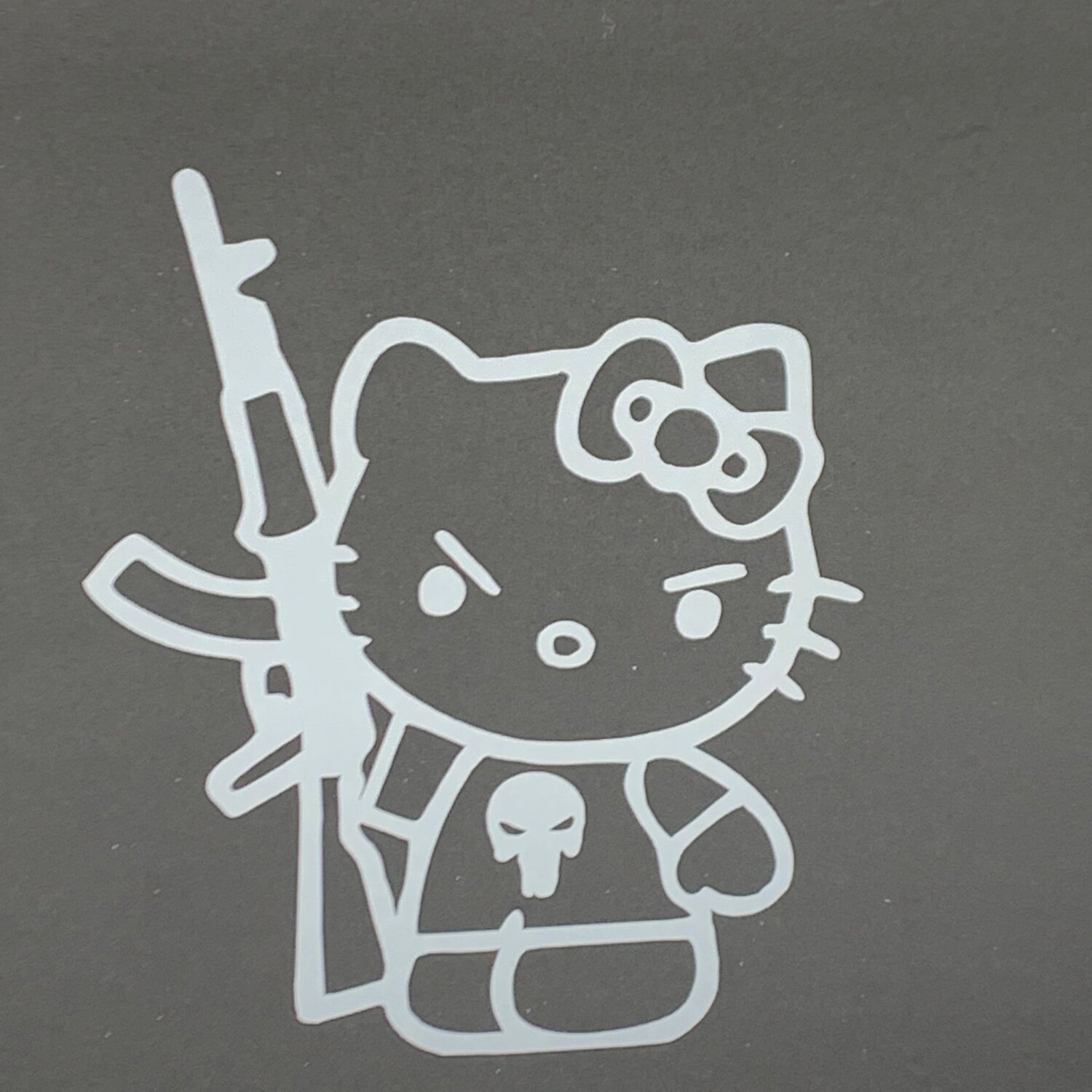 AP Kitty Punisher Decal