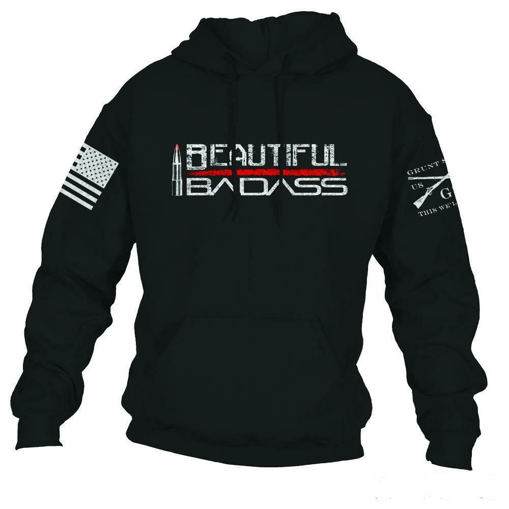 Beautiful Badass Hoodie Black