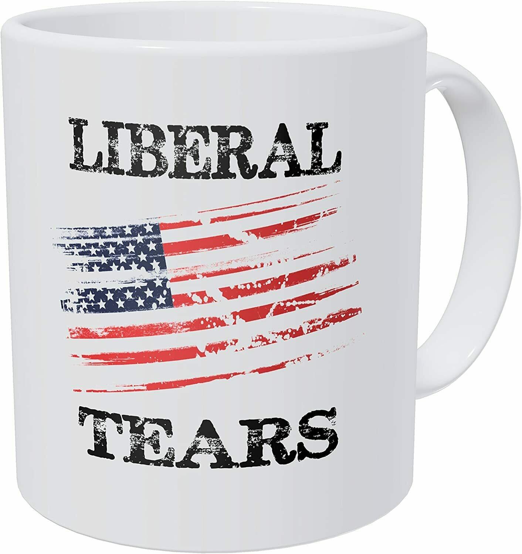 Liberal Tears Flag Mug