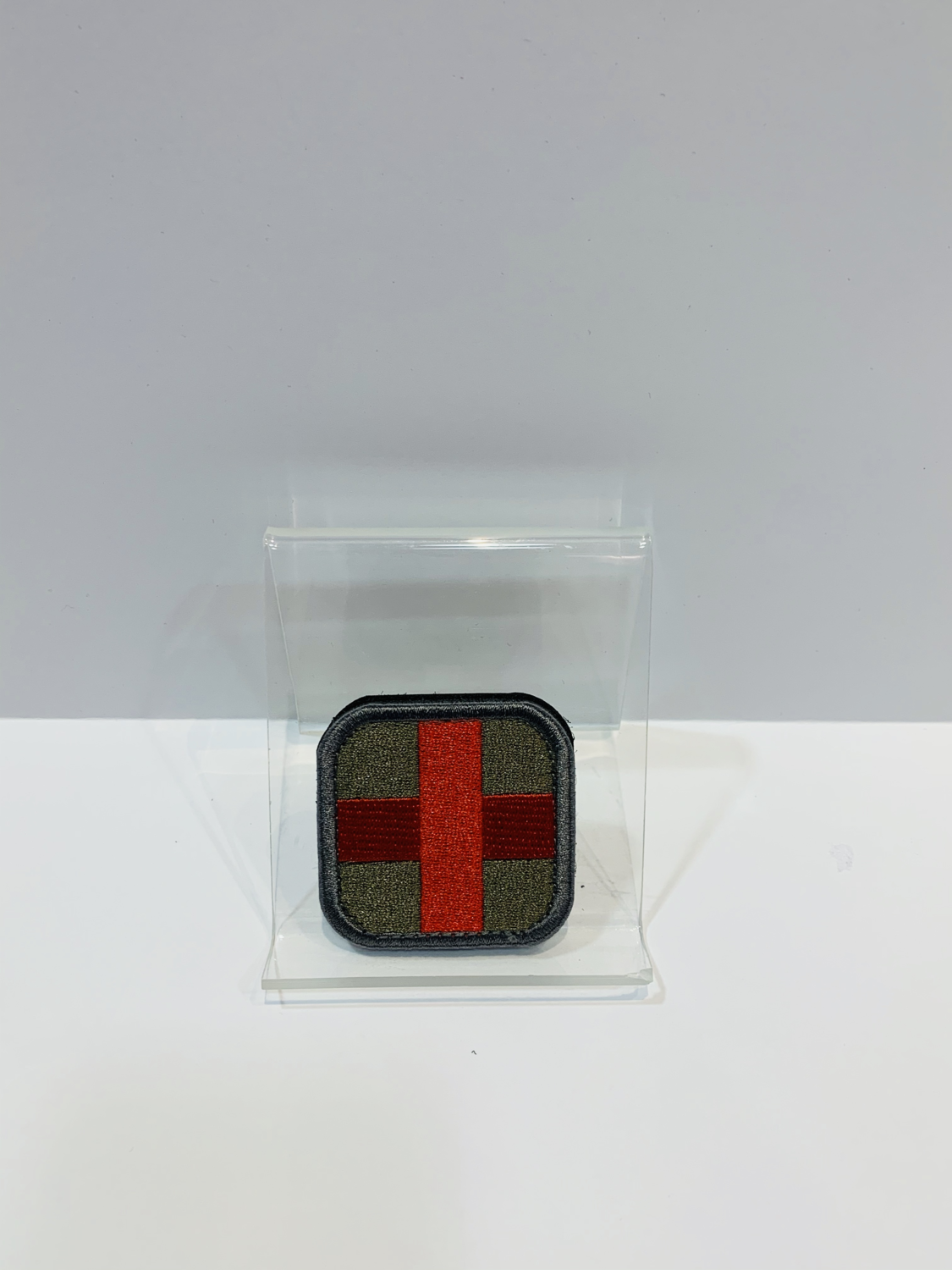 Medic Patches Gold/Red Cross