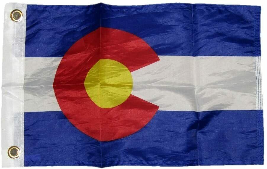 Motorcycle Flags Colorado Flag
