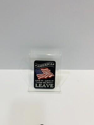 U.S. Patches LIVE IT/LOVE IT