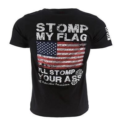 Stomp My Flag S/S Black