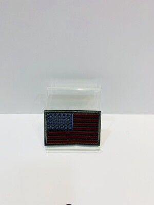 U.S. Patches Silver Outline