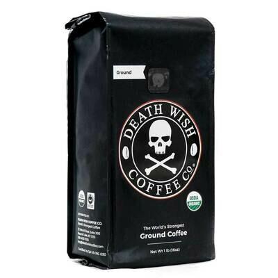 Death Wish Coffee Ground 16oz