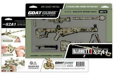 Camo Sniper Mini Goat Guns