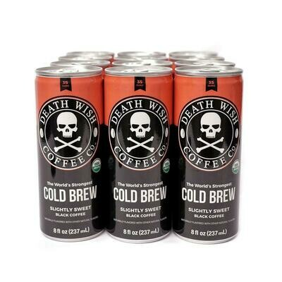 Death Wish Coffee Cold Brew