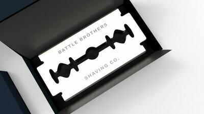 Battle Brothers Shaving Razor Blades