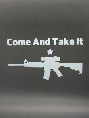 AP Come and Take It AR Small Decal