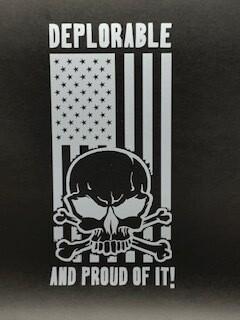 AP Deplorable Decal