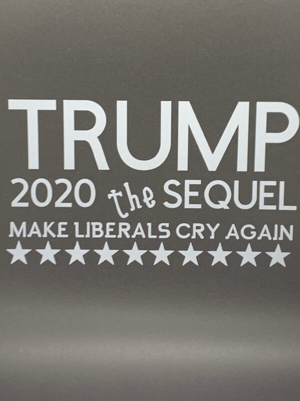 AP Trump 2020 Sequel Decal