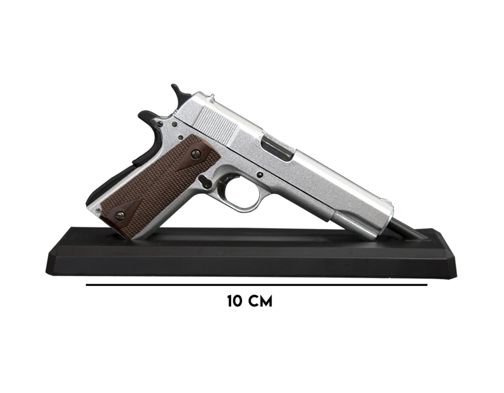 1911 Silver Goat Gun Mini