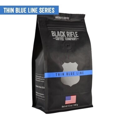 BRCC Thin Blue Line whole bean 12oz