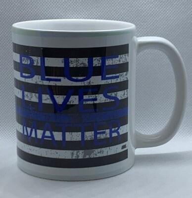 Blue Lives Matter Coffee Mug