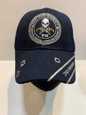 Patriotic Hats 2nd Ammend. Blue