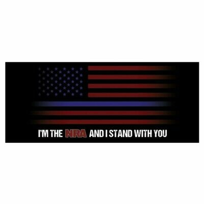 NRA Decals Blue Line