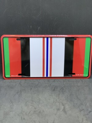 Afghanistan Campaign License Plate
