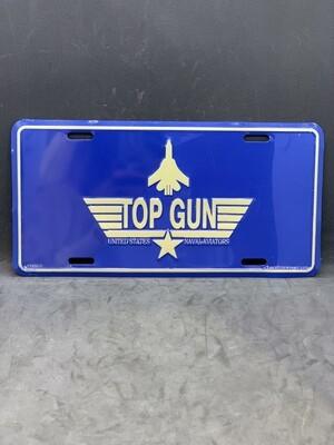 Top Gun License Plate