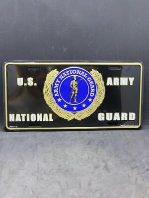 U.S. Army Nat.Guard License Plate