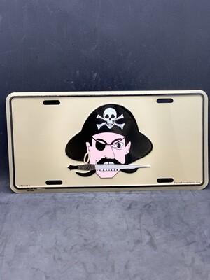Pirate License Plate