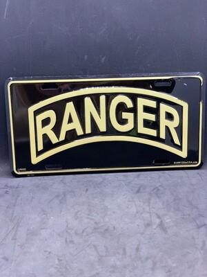 Ranger License Plate License Plate