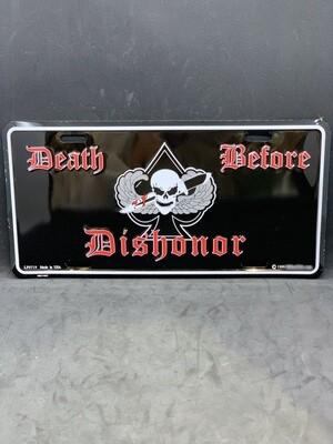 Skull/Knife DBD License Plate