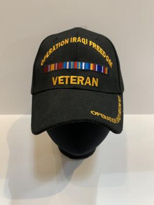 Veteran Hats Operation Iraqi Freedom
