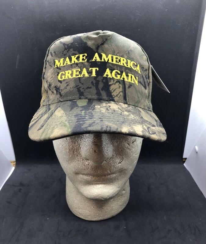 Patriotic Hats MAGA Camo
