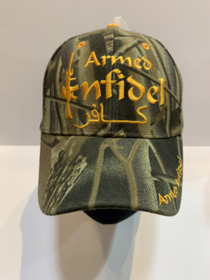 Patriotic Hats Armed Infidel Camo