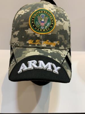 ARMY Hats Army-CAMO/BLACK