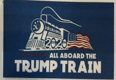 Flags 3X5 Trump Train