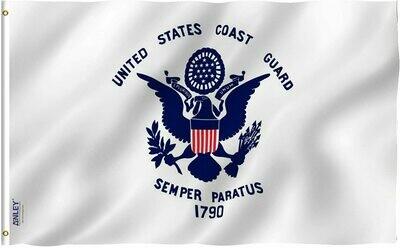 Flags 3X5 Coast Gaurd