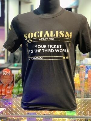 Socialism Ticket S/S