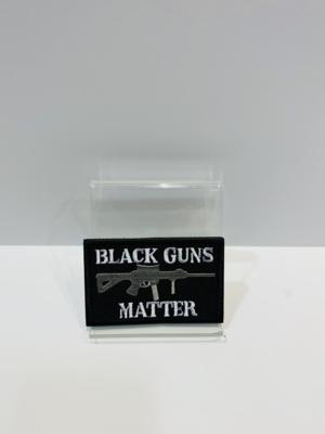 Misc Patches Black Guns Matter