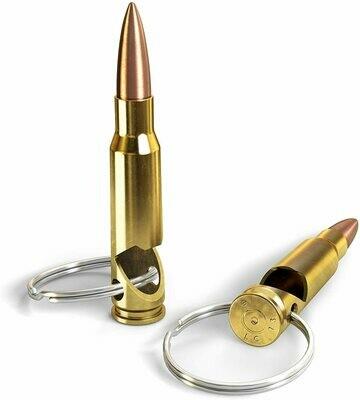 Bullet Bottle Opener w/Keyring