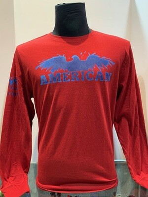 American L/S Red