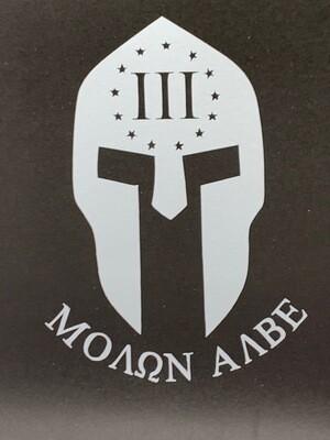 AP Spartan 3% Decal