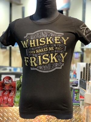Whiskey Makes Me Frisky S/S