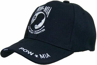 Patriotic Hats POW MIA