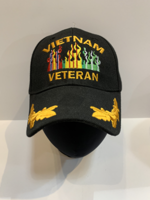 Veteran Hats Vietnam Vet Flames