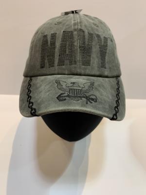 NAVY Hats Olive Green-Navy
