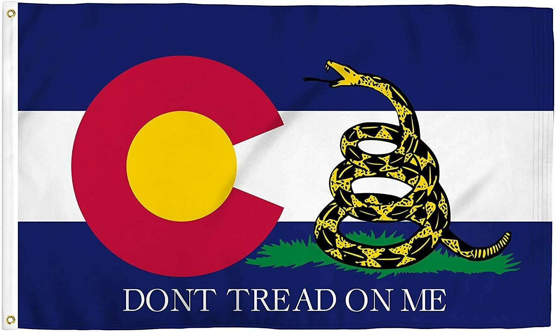 Flags 3X5 Colorado Gadsden