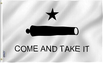 Flags 3X5 Come & Take It