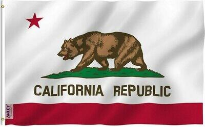Flags 3X5 California