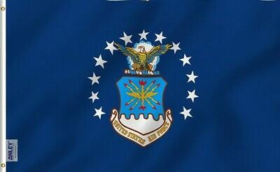 Flags 3X5 Air Force Logo