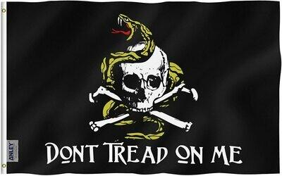 Flags 3X5 Gadsden Pirate